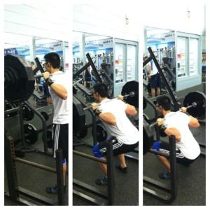 squat260